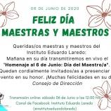 Feliz 6 de Junio Queridos Maestros